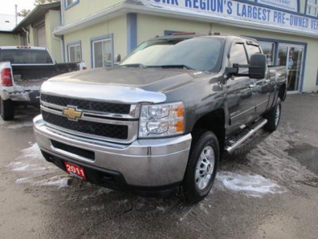 2011 Chevrolet Silverado 2500 3/4 TON LT EDITION 6 PASSENGER 6.0L - VORTEC.. TWO-WHEEL DRIVE.. CREW-CAB.. SHORTY.. BACK-UP CAMERA.. TRAILER BRAKE.. KEYLESS ENTRY..