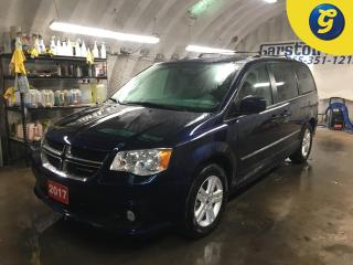 Used 2017 Dodge Grand Caravan CREW PLUS*NAVIGATION*LEATHER*STOW N GO*DVD*U CONNECT TOUCH SCREEN*PHONE CONNECT*BACK UP CAMERA* for sale in Cambridge, ON