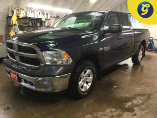Used 2013 Dodge Ram 1500 SXT*QUAD CAB*4X4*5.7 HEMI*PHONE CONNECT*BED LINER*STEERING WHEEL CONTROLS*POWER WINDOWS/MIRRORS/LOCKS/TAILGATE LOCK*HEATED MIRRORS* CLIMATE CONTROL*CR for sale in Cambridge, ON