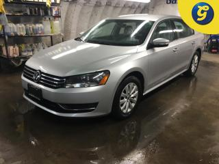 Used 2013 Volkswagen Passat TRENDLINE*PHONE CONNECT*HEATED FRONT SEATS*STEERING WHEEL CONTROL*VOICE RECOGNITION*TELESCOPIC STEERING WHEEL*DUAL CLIMATE CONTROL*CHILD LOCK WINDOWS* for sale in Cambridge, ON