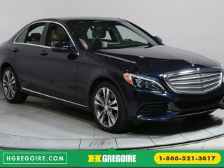 Used 2016 Mercedes-Benz C 300 C 300 CUIR TOIT NAV for sale in St-léonard, QC