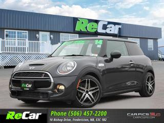Used 2014 MINI Cooper Cooper S REDUCED | HEATED LEATHER | PANORAMIC SUNROOF for sale in Fredericton, NB