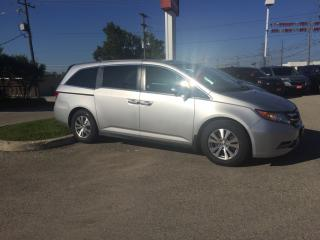 Used 2013 Honda Odyssey EX-L Bluetooth, Back Up Camera, Heated Seats and more! for sale in Waterloo, ON
