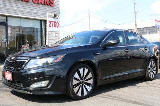 Used 2011 Kia Optima Turbo SX Navigation, Panoramic, Camera, No Accidents for sale in Toronto, ON