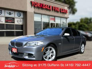Used 2013 BMW 528 i xDrive M Sport Pkg, Navigation, 360 Cam, No Accidents for sale in Toronto, ON