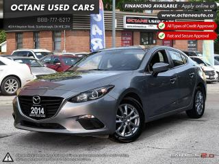Used 2014 Mazda MAZDA3 GS-SKY ACCIDENT FREE! ONE OWNER! for sale in Scarborough, ON