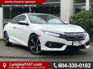 Used 2016 Honda Civic Touring LOW KM, B.C OWNED! for sale in Surrey, BC