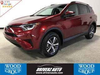 Used 2018 Toyota RAV4 LE ACCIDENT FREE, REARVIEW CAMERA, SAFETY ASSIST SYSTEMS for sale in Calgary, AB