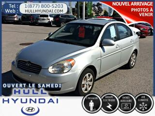 Used 2009 Hyundai Accent Gl 4portes for sale in Gatineau, QC