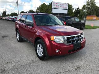 Used 2008 Ford Escape XLT for sale in Komoka, ON