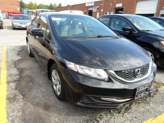 Used 2014 Honda Civic HEATED SEATS | BLUETOOTH | LIKE NEW BRAKES & TIRES for sale in Vaughan, ON