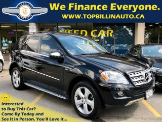 Used 2010 Mercedes-Benz ML-Class ML350 BlueTEC 4MATIC, Navigation for sale in Vaughan, ON