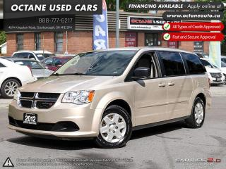 Used 2012 Dodge Grand Caravan SE/SXT for sale in Scarborough, ON