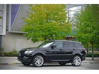 Used 2014 Land Rover Range Rover Sport AUTOBIOGRAPHY SUPERCHARGED for sale in Burnaby, BC