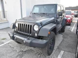 Used 2017 Jeep Wrangler JK Unlimited Sport BIG BEAR PACKAGE !!! for sale in Concord, ON