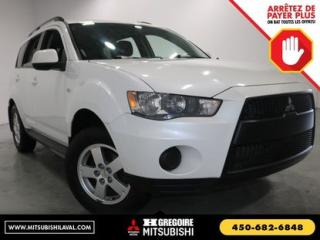Used 2010 Mitsubishi Outlander ES for sale in Laval, QC