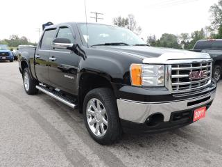 Used 2011 GMC Sierra 1500 SLE. Crew. 4X4. Leather. Navigation for sale in Gorrie, ON