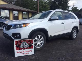 Used 2011 Kia Sorento LX for sale in Glencoe, ON