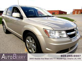 Used 2009 Dodge Journey SXT - 3.5L - 5 PASSENGER for sale in Woodbridge, ON