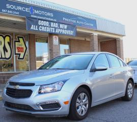 Used 2016 Chevrolet Cruze Limited 4dr Sdn LT w/1LT for sale in Brampton, ON