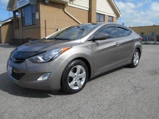 Used 2012 Hyundai Elantra GLS 1.8L Automatic Sunroof Heated Seats 177,000K for sale in Rexdale, ON