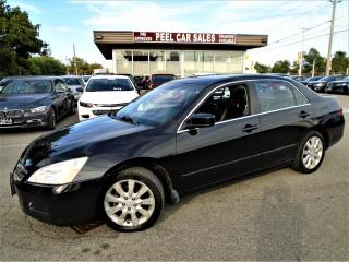 Used 2006 Honda Accord 2006 HONDA ACCORD|BLACK ON BLACK|197K for sale in Mississauga, ON