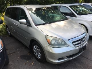 Used 2005 Honda Odyssey EX/ POWER GROUP/ POWER SLIDING DOORS/ ALLOYS for sale in Scarborough, ON