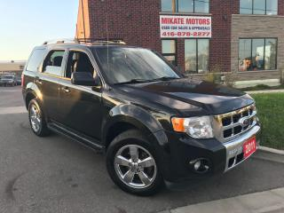 Used 2011 Ford Escape Limited for sale in Rexdale, ON