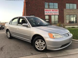 Used 2002 Honda Civic LX-G for sale in Rexdale, ON