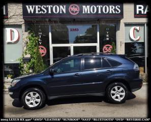 Used 2005 Lexus RX 330 AWD*LEATHER*SUNROOF*NAVI*BTOOTH*DVD*REVERSE CAM* for sale in Toronto, ON