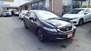 Used 2014 Honda Civic EX/NO ACCIDET/SINGLE OWNER//BACKUP CAMERA/$12500 for sale in Brampton, ON