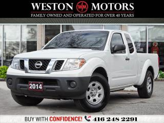 Used 2014 Nissan Frontier S*KING CAB*BLUETOOTH*A/C*ACCIDENT FREE!!* for sale in Toronto, ON