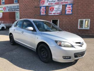 Used 2008 Mazda MAZDA3 CERTIFIED/WARRANTY INCLUDED for sale in Cambridge, ON