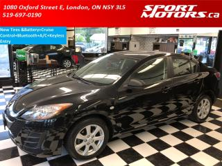 Used 2010 Mazda MAZDA3 GS+Bluetooth+New Tires+Keyless Entry for sale in London, ON