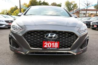 Used 2018 Hyundai Sonata Sport LEATHER SUNROOF PUSH START ACCIDENT FREE for sale in Brampton, ON