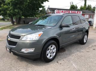 Used 2011 Chevrolet Traverse Accident Free/Automatic/7 Passenger/Certified for sale in Scarborough, ON