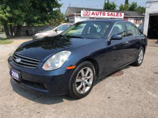 Used 2006 Infiniti G35X Accident Free/Automatic/AWD/Leather/Roof/Certified for sale in Scarborough, ON
