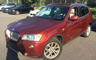 Used 2012 BMW X3 28i 4 portes à traction intégrale Naviga for sale in Delson, QC