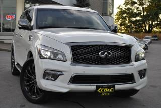 Used 2016 Infiniti QX80 RARE! LIMITED! 7 PASSENGER - FULLY LOADED! for sale in Oakville, ON