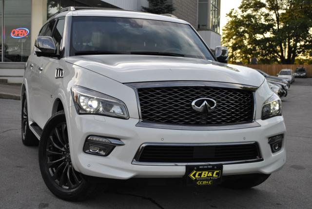 2016 Infiniti QX80 LIMITED! 7 PASSENGER - FULLY LOADED!