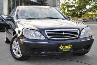 Used 2000 Mercedes-Benz S-Class ONLY 63KM - ONE OWNER - NO ACCIDENTS for sale in Oakville, ON