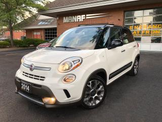 Used 2014 Fiat 500 500 L Trekking Panoramic Navi  Heated Seats Certi* for sale in Concord, ON
