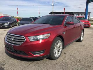 Used 2013 Ford Taurus SEL * AWD * Leather * NAV * Sunroof for sale in London, ON