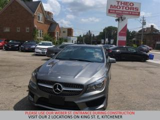 Used 2014 Mercedes-Benz CLA-Class 4MATIC | CAMERA | SUNROOF | 18 INCH BLACK ALLOYS for sale in Kitchener, ON