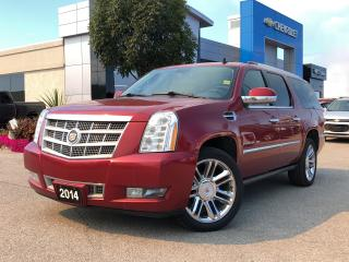 Used 2014 Cadillac Escalade ESV PLATINUM for sale in Barrie, ON