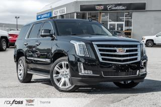 Used 2015 Cadillac Escalade Premium DVD Nav Surround Vision HUD for sale in Thornhill, ON