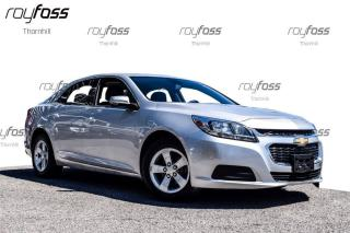 Used 2014 Chevrolet Malibu LS Bluetooth 16Alum Whls low km's for sale in Thornhill, ON