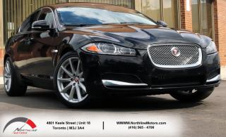 Used 2015 Jaguar XF 3.0|V6|AWD|Navigation| Sunroof for sale in Toronto, ON