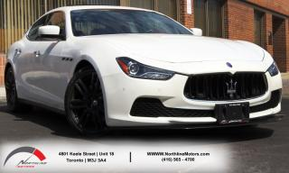 Used 2014 Maserati Ghibli S|NAVIGATION|RED INTERIOR|SUNROOF for sale in Toronto, ON