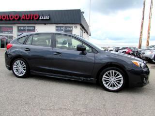 Used 2013 Subaru Impreza SPORT HB AWD SUNROOF CERTIFIED 2YR WARANTY for sale in Milton, ON